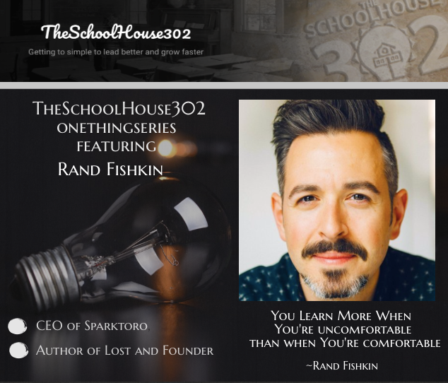 #onethingseries: Learning to Win from Failure w/ Rand Fishkin, @randfish