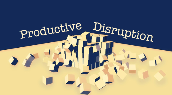 #review&reflect: Learning to Promote Productive Disruption in Your Organization