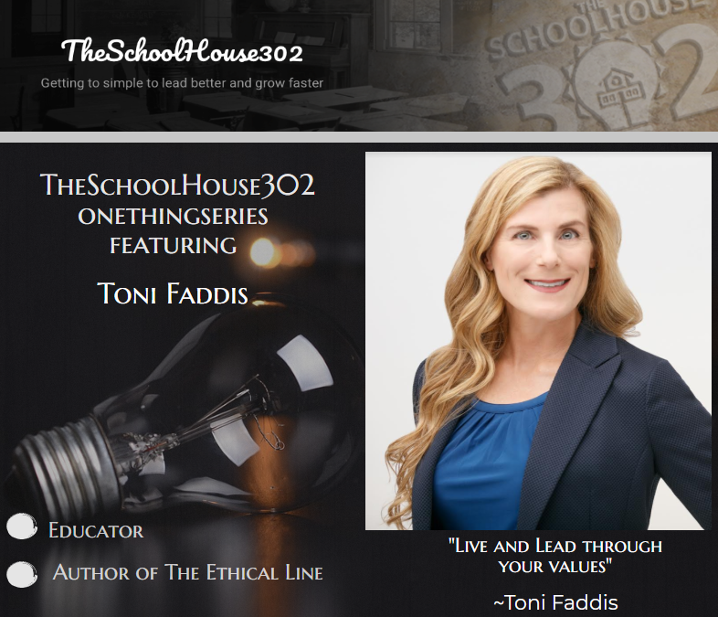 One Thing Series: Better Decision-Making w/ Dr. Toni Faddis #onethingseries