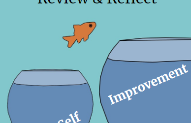 Review and Reflect: Make Self-Improvement a Reality #reviewandreflect