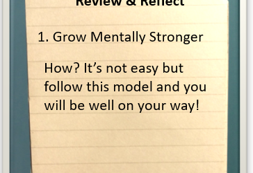 Review and Reflect: Growing Mentally Stronger Every Day — #reviewandreflect