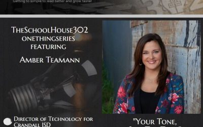 How to Finish the School Year as a Peak Performing School Leader with Director of Technology, Amber Teamann