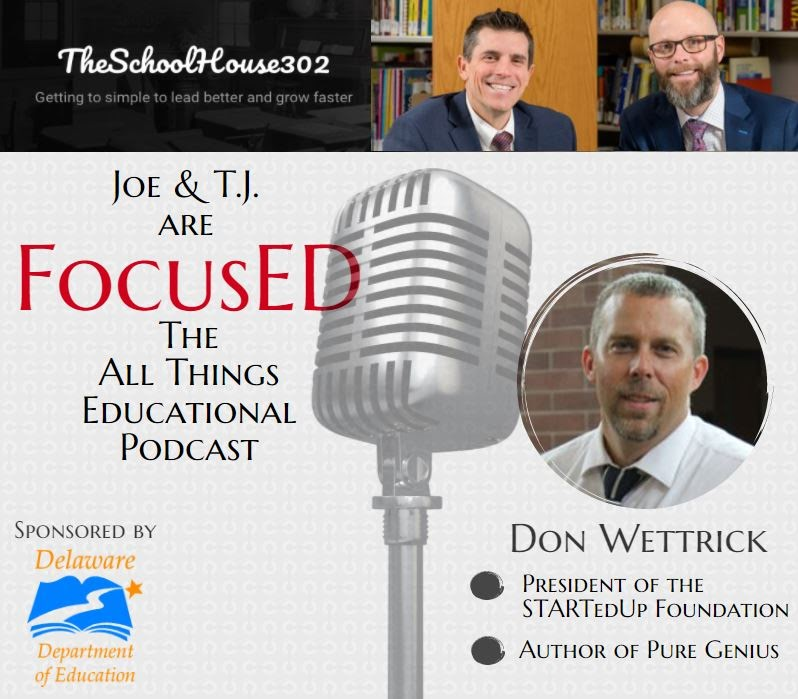 Don Wettrick on FocusED Podcast