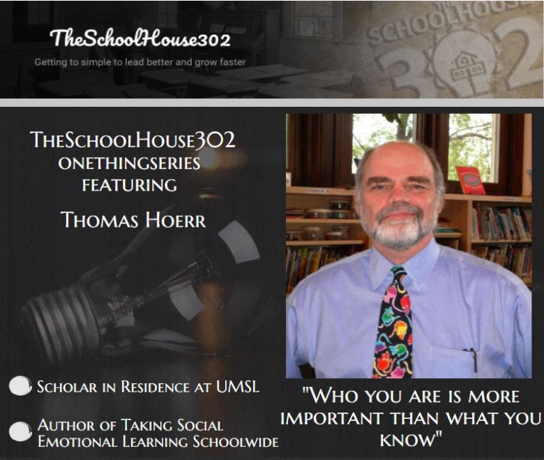 What You Should Know About Building A Social Emotional Learning Culture from Thomas Hoerr